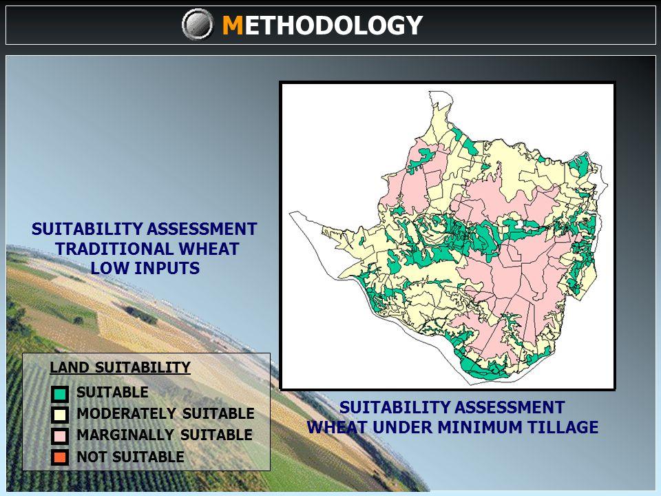 METHODOLOGY LAND EVALUATION (III) A1A2 A3 A2A1 A2A1NA3N A1NNA3 NA1A2 NA1A2A1A2 Units Land Use Types 1234512345 A B C D E