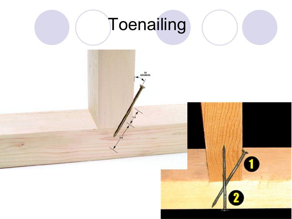 toe nailing