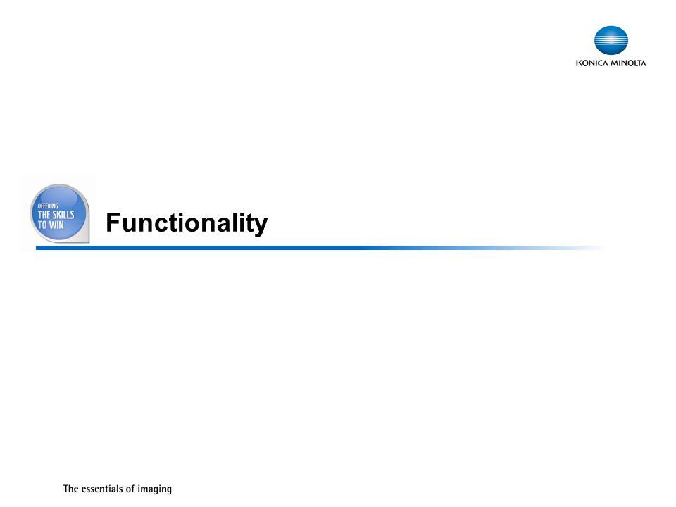 19 Functionality