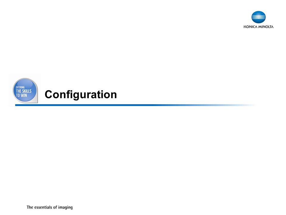 26 Configuration