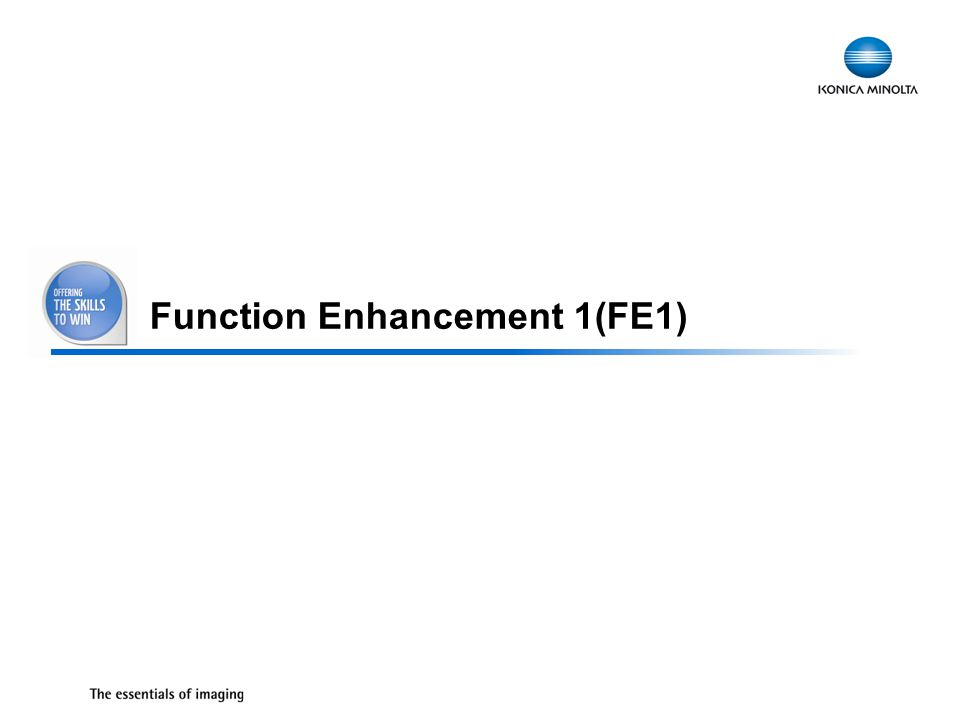 36 Function Enhancement 1(FE1)