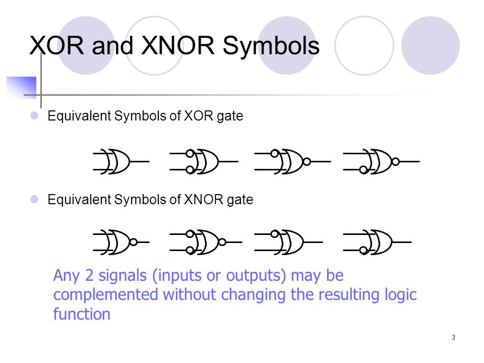 4 SSI XOR and XNOR 74x86 : 4 XOR gates 74x266: 4 XNOR gates with open collector or open drain output