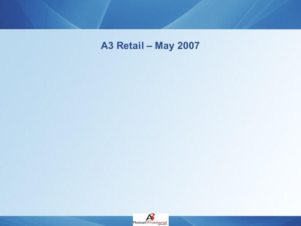 A3 Retail – May 2007