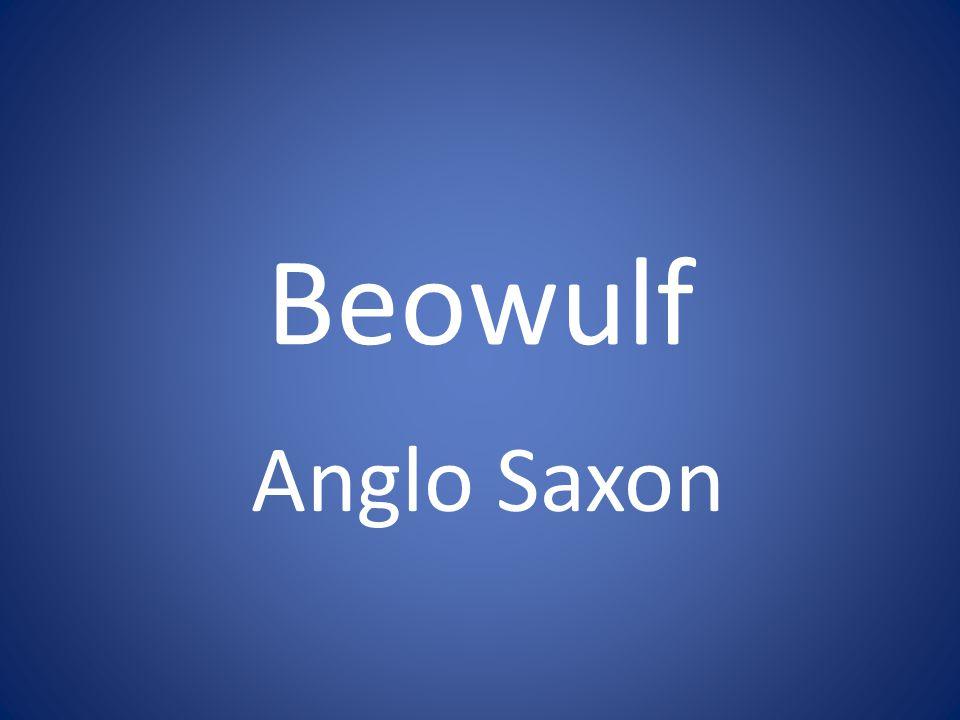 Beowulf Anglo Saxon