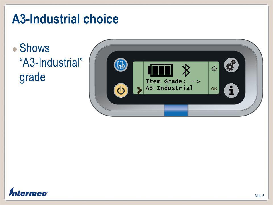 Slide 6 Power off choice Shows Power Off!!!! Item Grade: --> Power Off!!!!