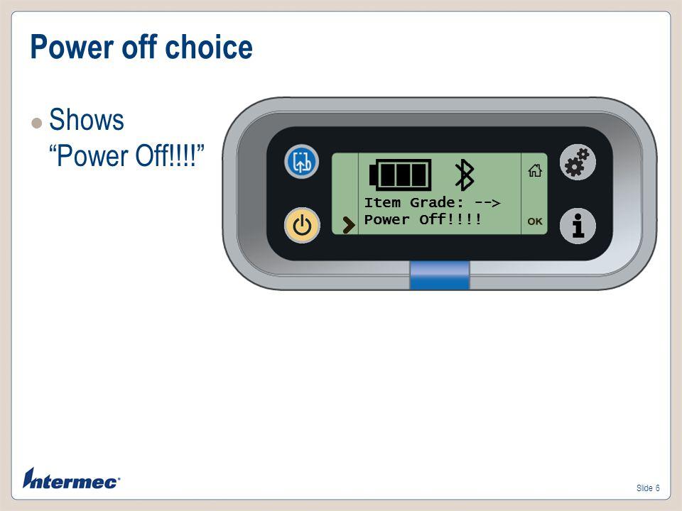 Slide 7 Printer asleep Printer is in sleep mode Press Power button to restart
