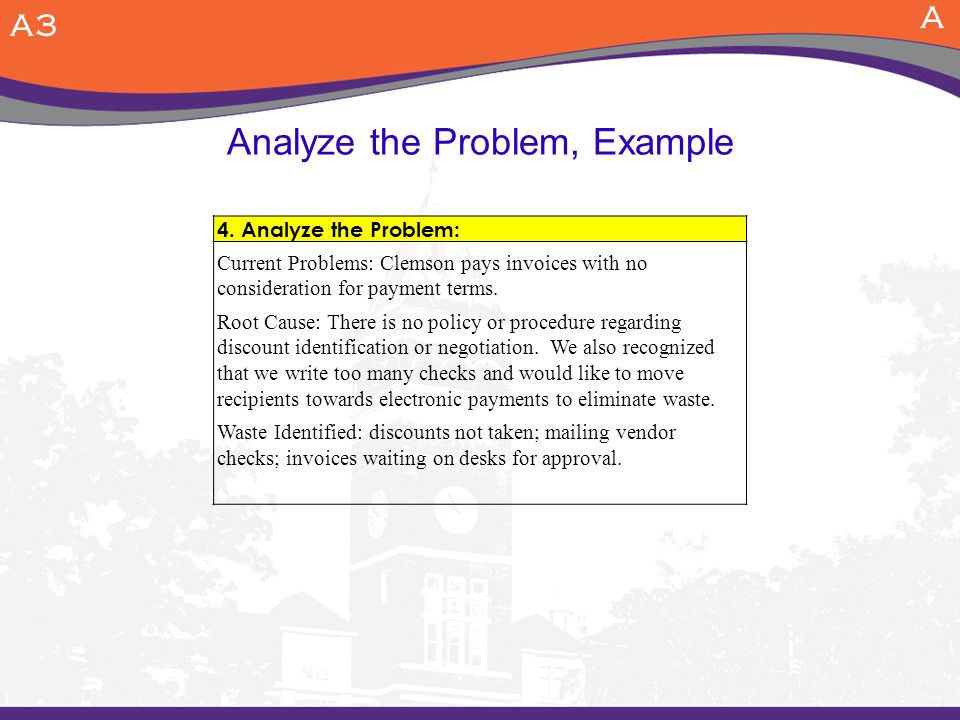 Analyze the Problem, Example A3 A 4.