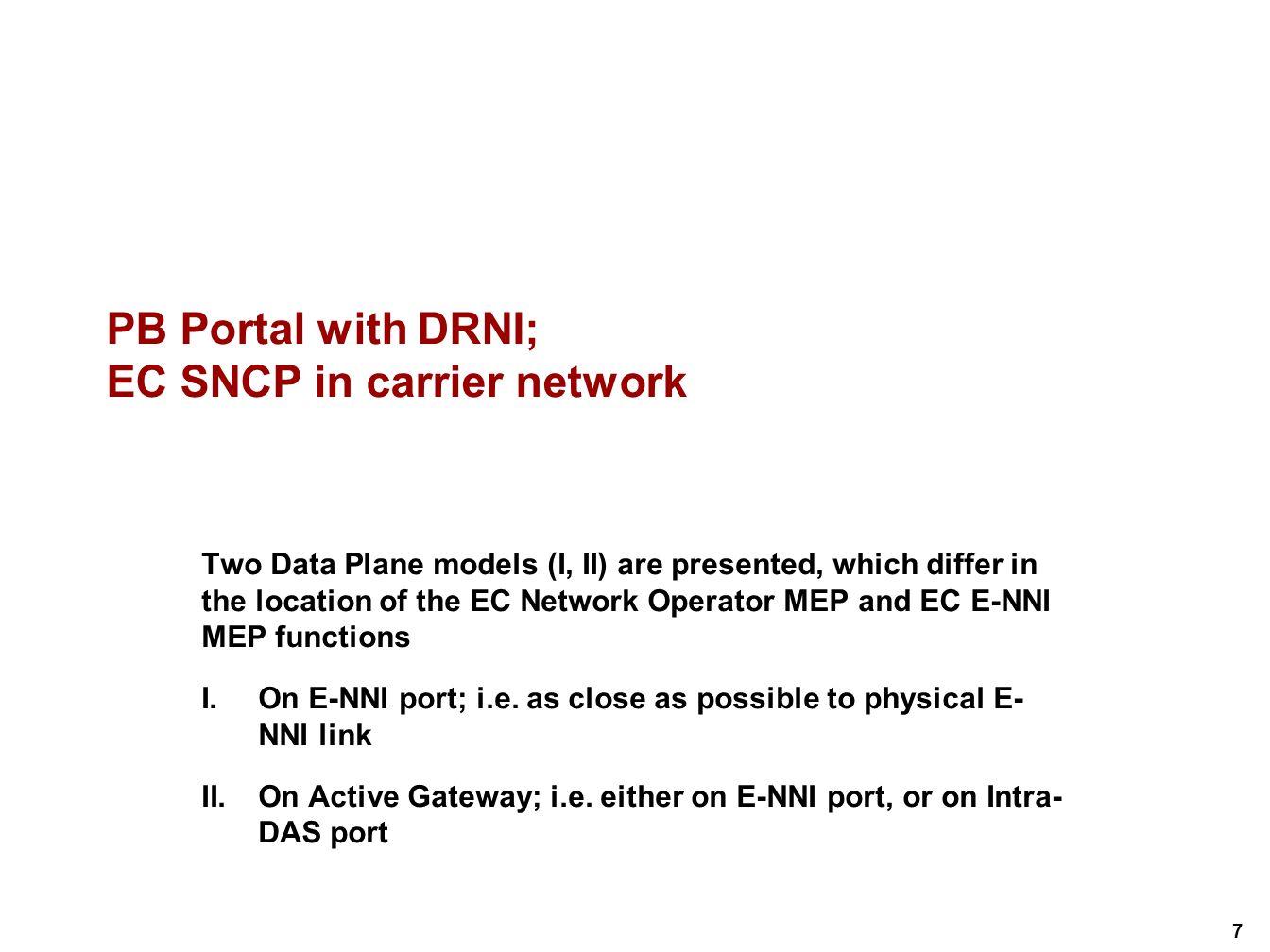 28 PBB Data Plane Model I/1 (example with BVLAN restoration) 19.2/3/5 6.9, 9.5b 8.5 19.2/3/5 6.9, 9.5b 8.5 E-NNI Link 2 19.2/3/5 6.9, 9.5b 8.5 19.2/3/5 6.9, 9.5b 8.5 19.2/3/5 6.9, 9.5b 8.5 E-NNI Link 3 Half-DAS S-Relay PIP 19.2/3/5 6.9, 9.5b 8.5 19.2 6.7 802.3 Half-DAS S-Relay 19.2/3/5 6.9, 9.5b 8.5 19.2 6.7 802.3 E-NNI Link 1 19.2/3/5 6.9, 9.5b 8.5 19.2 6.7 802.3 19.2/3/5 6.9, 9.5b 8.5 19.2 6.7 802.3 E-NNI Link 4 6.14 6.10 6.14 6.11, 9.5c 19.2/3/5 6.14 6.10 6.14 6.11, 9.5c 19.2/3/5 PNP 6.14 6.10 6.14 6.11, 9.5c 19.2/3/5 6.14 6.10 6.14 6.11, 9.5c 19.2/3/5 6.14 6.10 6.14 6.11, 9.5c 19.2/3/5 CBP Network Virtual Link Intra-DAS Virtual Link 19.2/3/5 6.9, 9.5b 8.5 6.14 6.10 6.14 6.11, 9.5c 19.2/3/5 BVLAN MEP EC NO MEP EC E-NNI MEP EC SP MIP EC NO MIP Link MEP Half-DVS DVS: Distributed VLAN restoration Sublayer @A @.