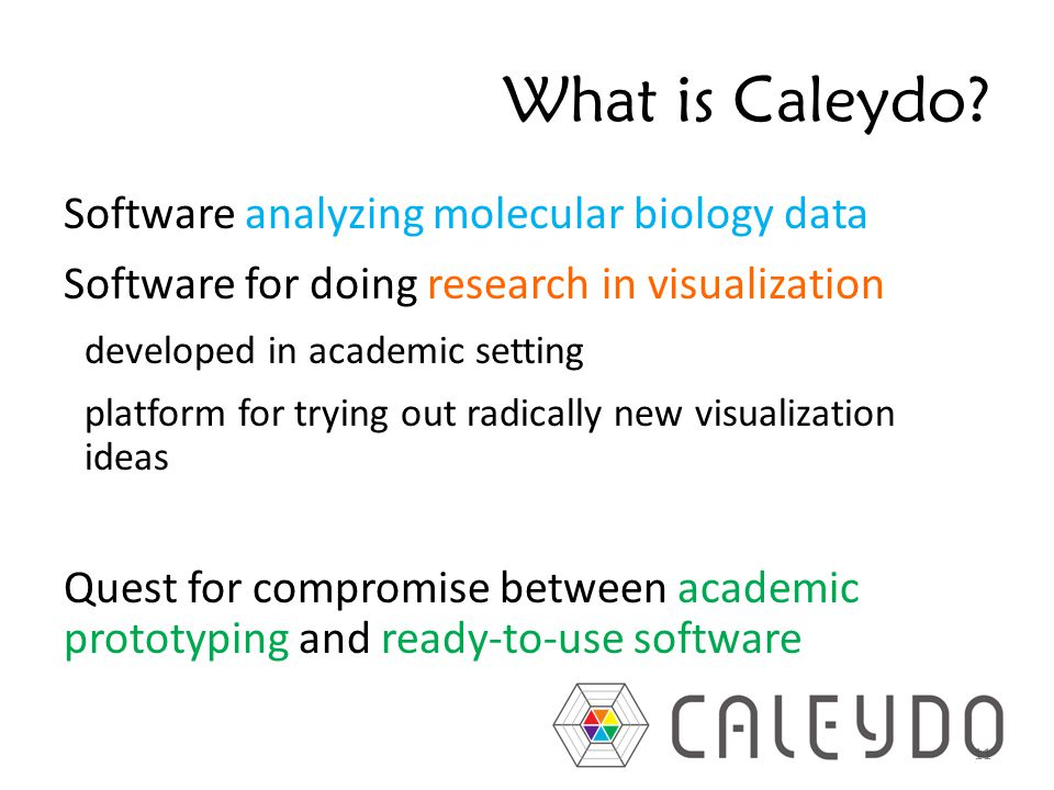 What is Caleydo.