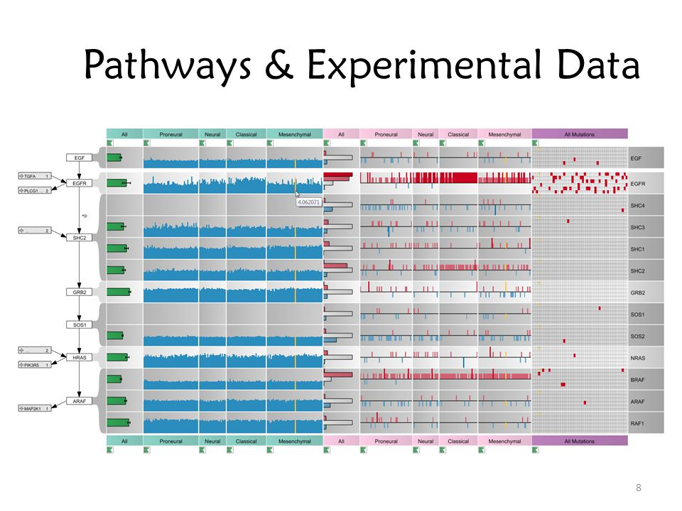 59 Ranked pathway list Datasets Selected Path