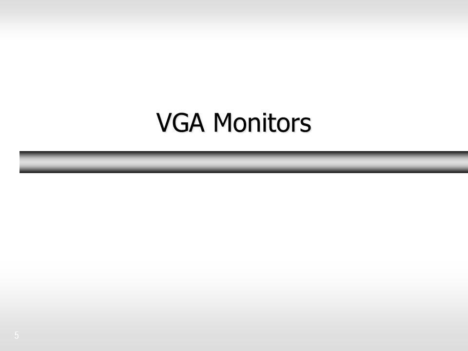 VGA Monitors 5