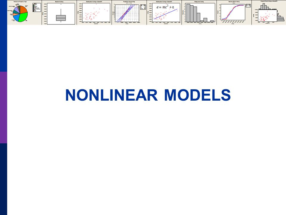 NONLINEAR MODELS