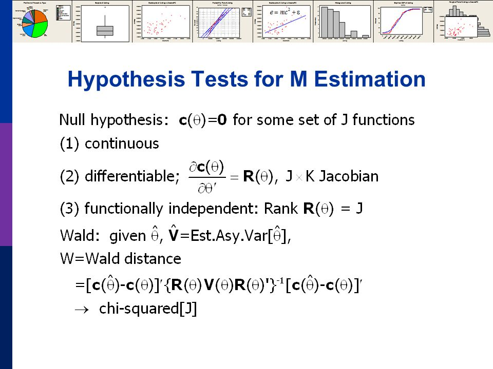 Hypothesis Tests for M Estimation