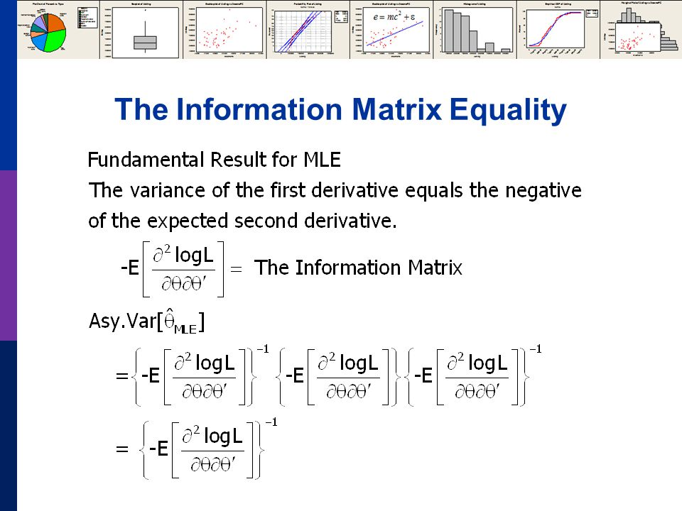 The Information Matrix Equality