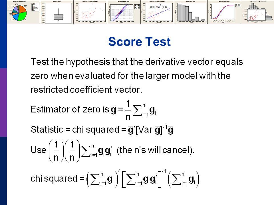 Score Test