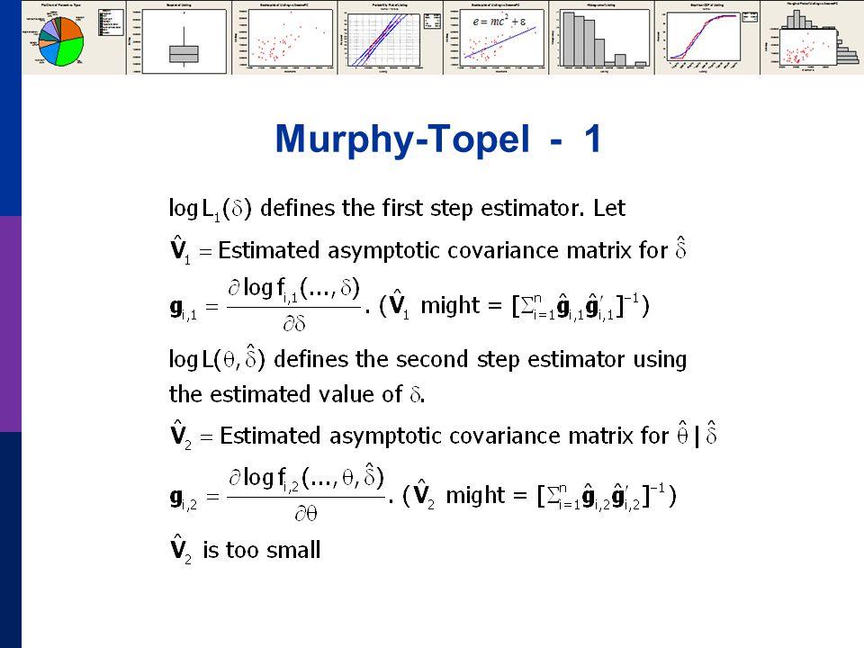 Murphy-Topel - 1