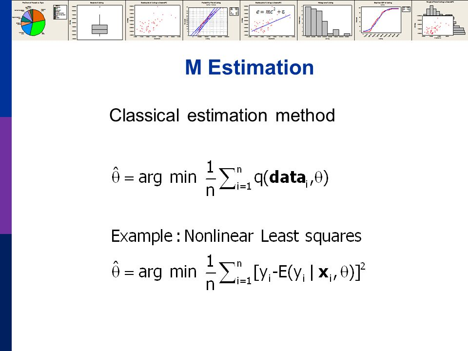 M Estimation Classical estimation method