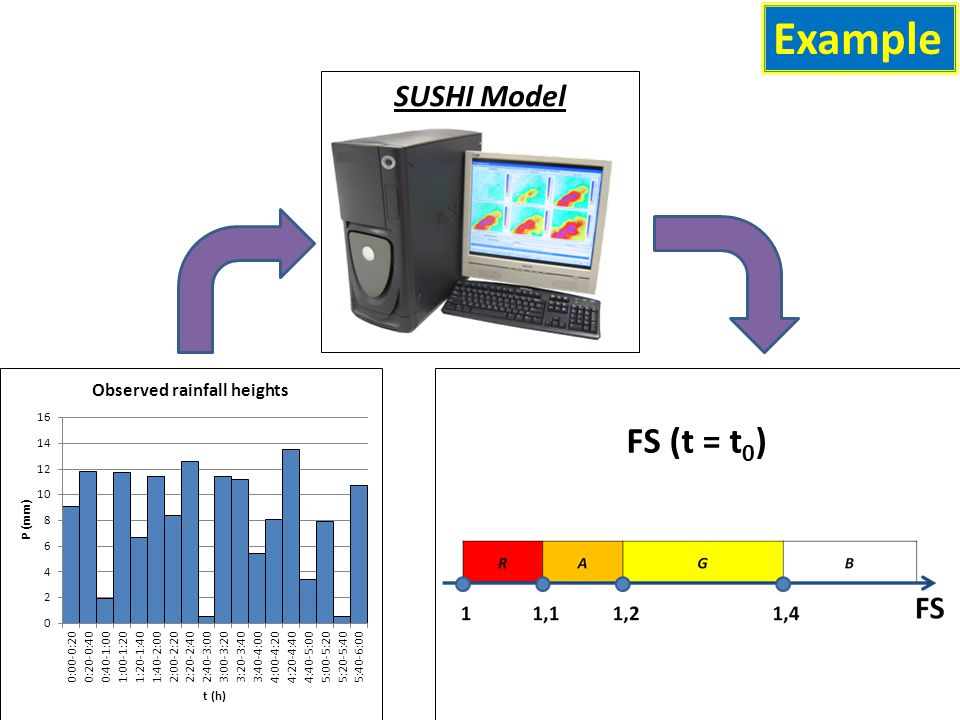 Example SUSHI Model FS (t = t 0 )