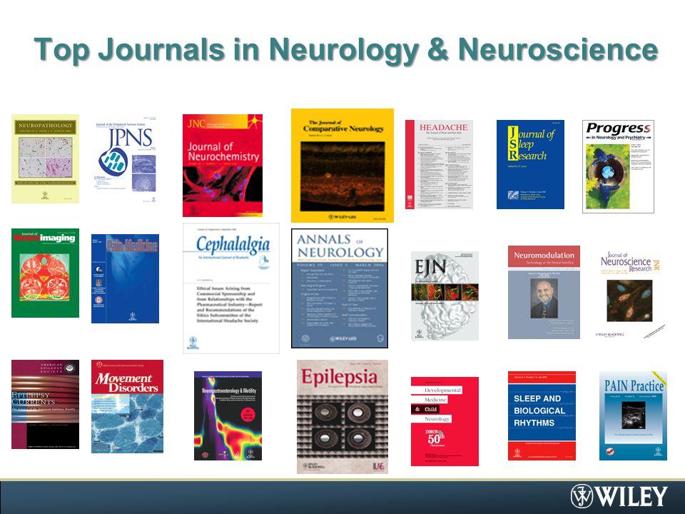Top Journals in Neurology & Neuroscience