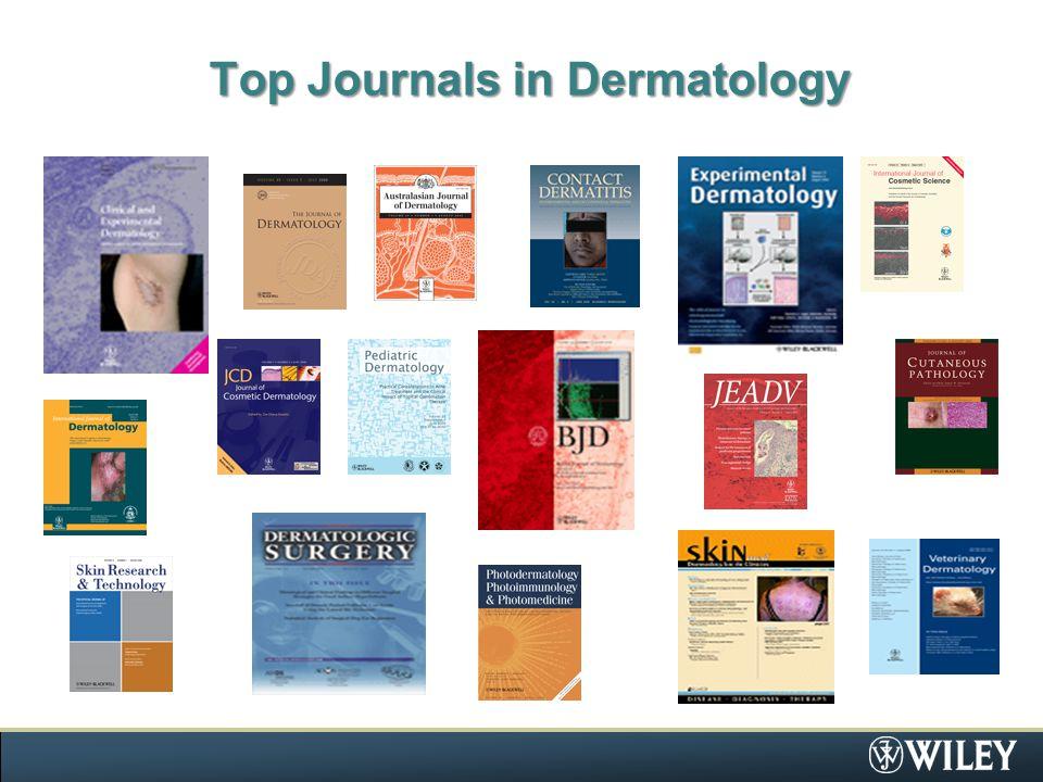 Top Journals in Dermatology