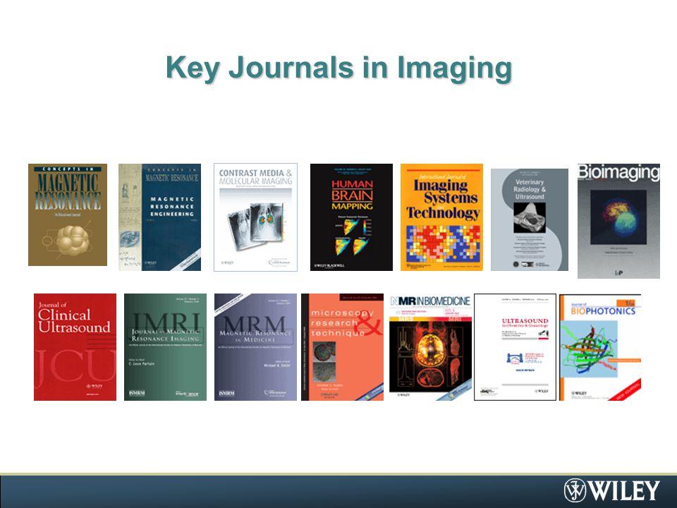 Key Journals in Imaging