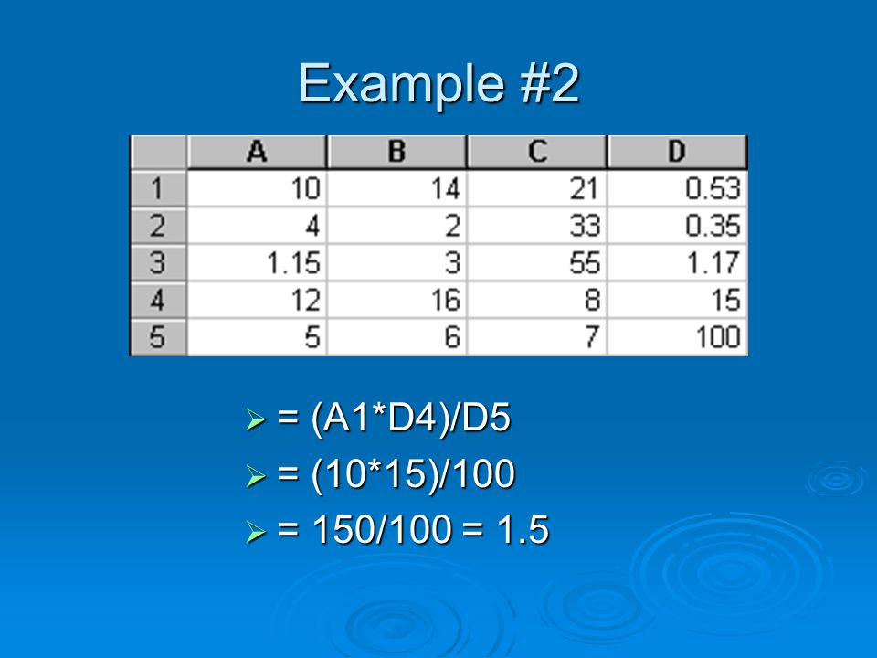 Types of Cell Reference  There are three types of cell references we can use in Excel.