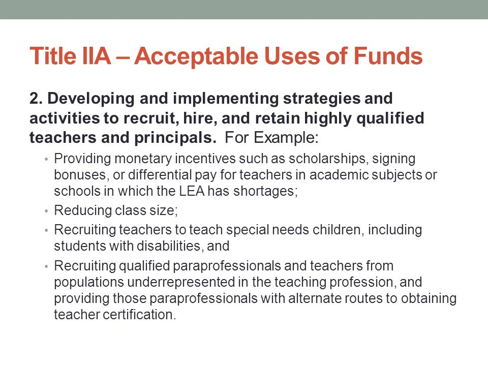 Does the private school's PD have to be the same as the LEA.
