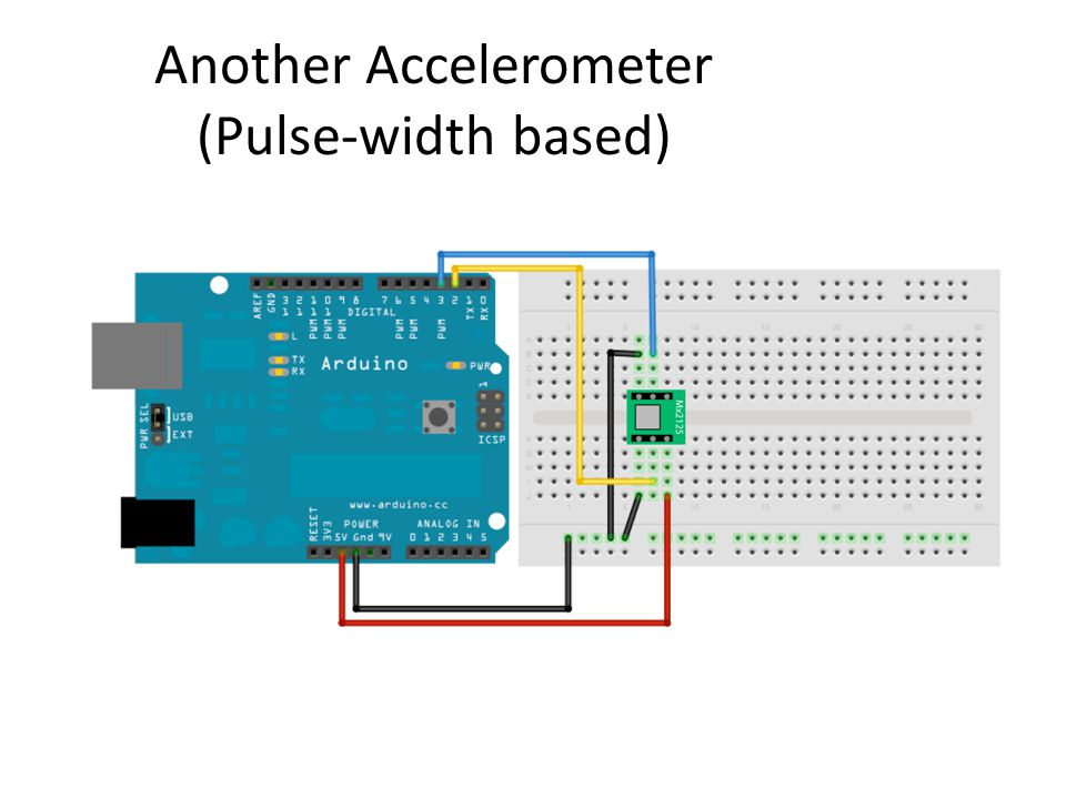 Another Accelerometer (Pulse-width based)