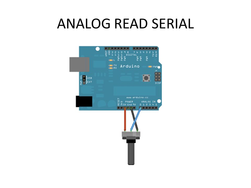 ANALOG READ SERIAL