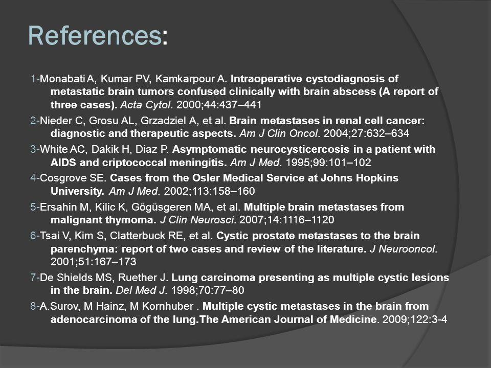 References: 1-Monabati A, Kumar PV, Kamkarpour A.