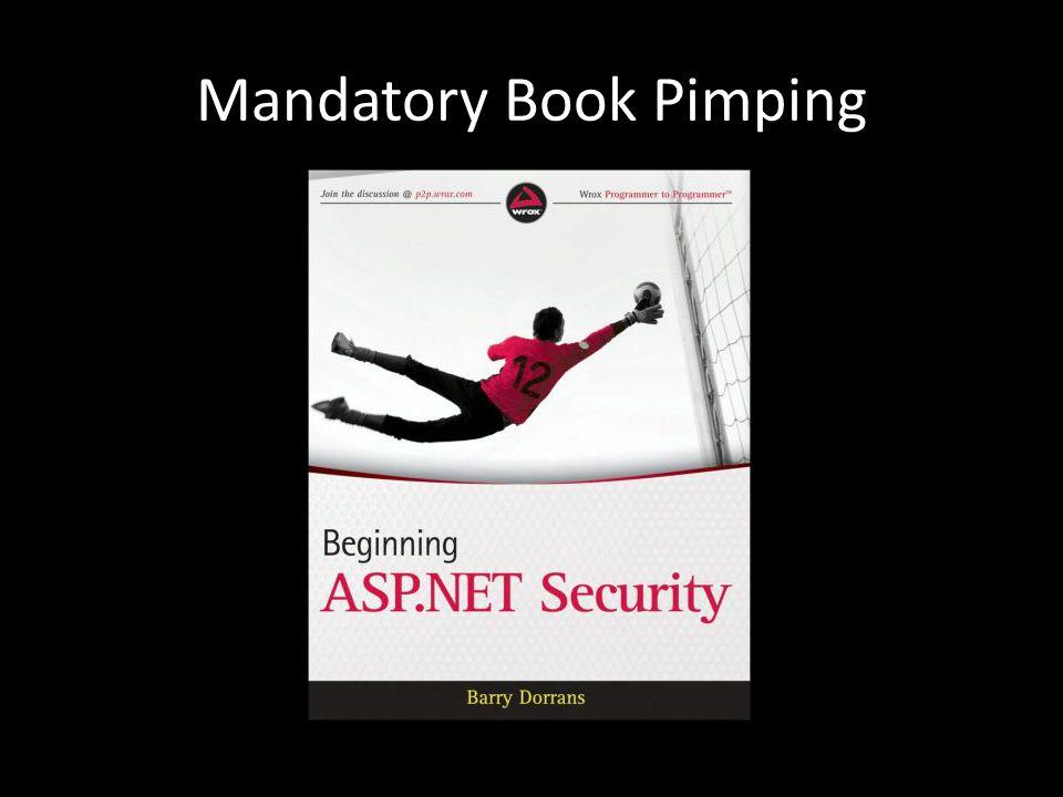 Mandatory Book Pimping