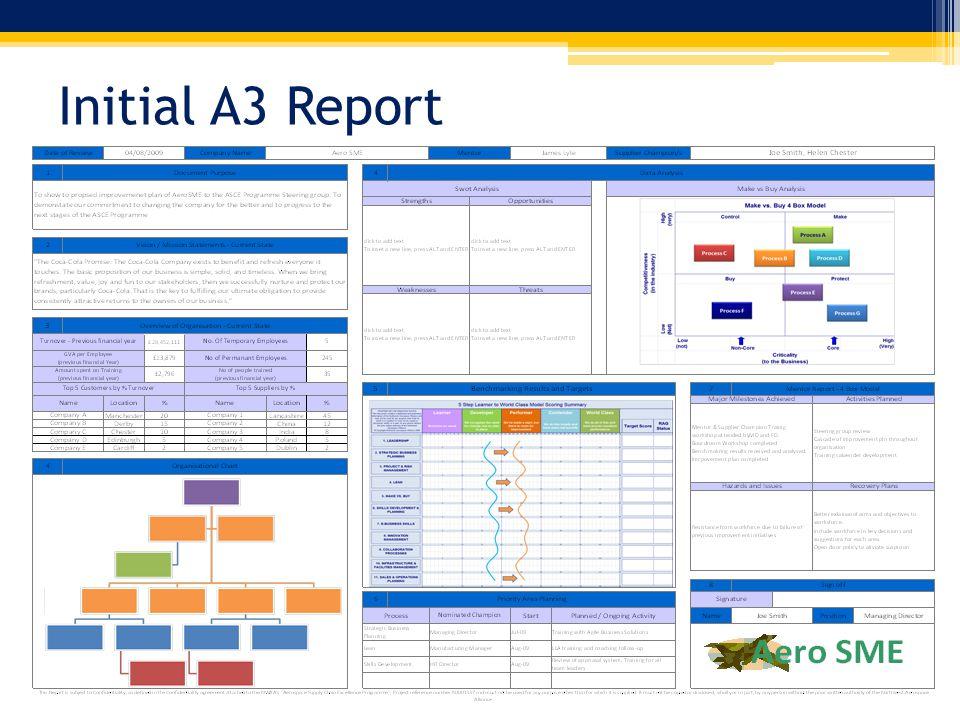 Initial A3 Report