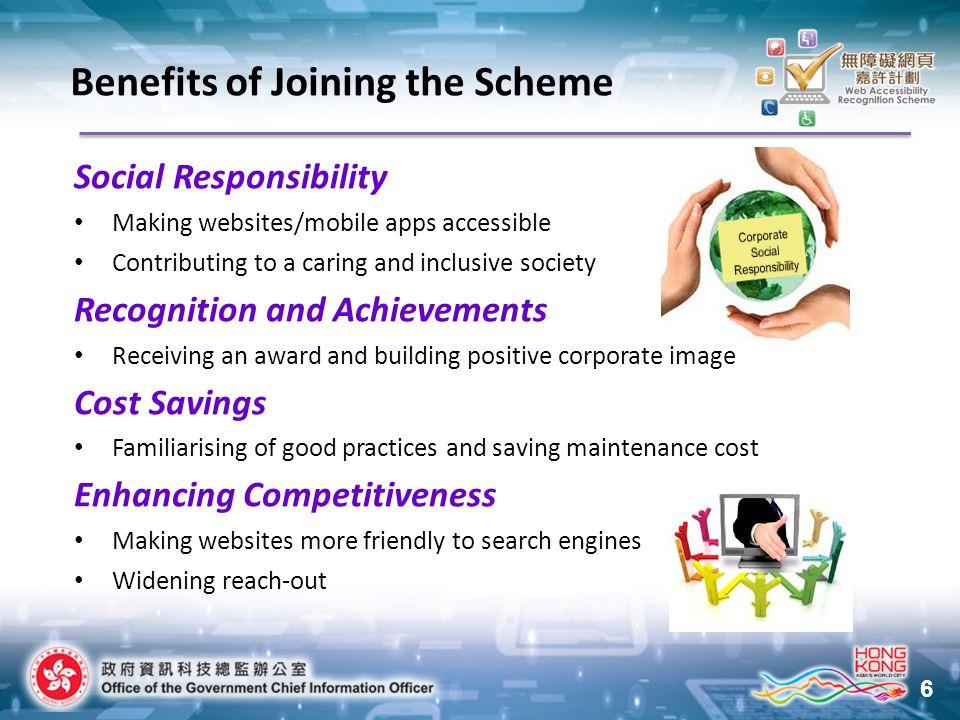 17 1.Main webpage – www.ogcio.gov.hk 2. Contact Us 3.