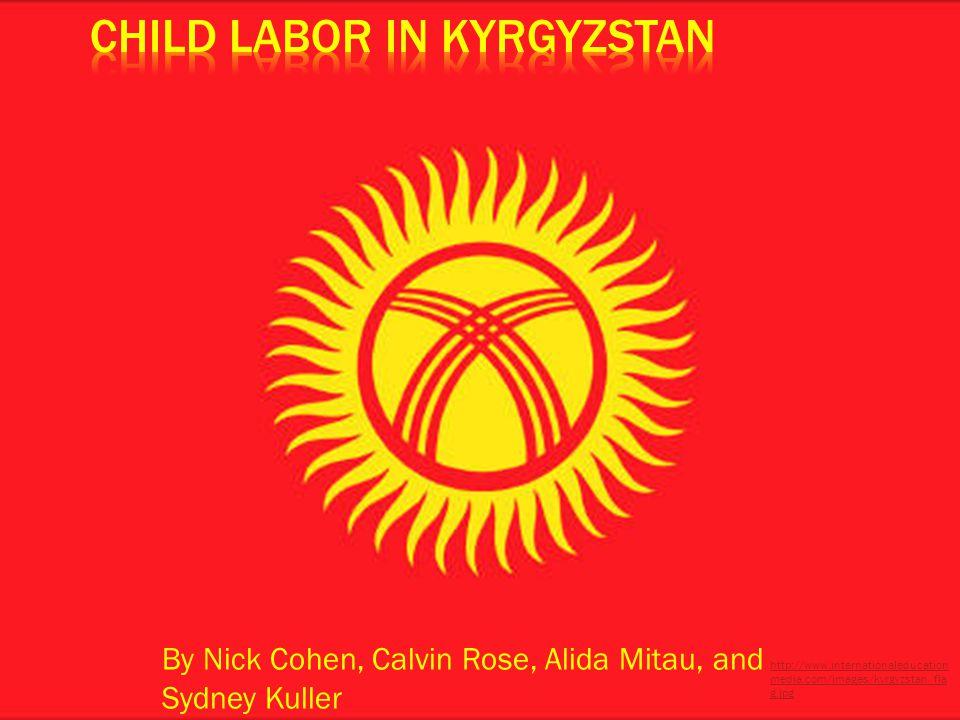 By Nick Cohen, Calvin Rose, Alida Mitau, and Sydney Kuller http://www.internationaleducation media.com/images/kyrgyzstan_fla g.jpg