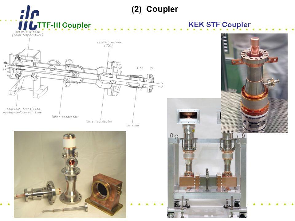KEK STF Coupler TTF-III Coupler (2) Coupler