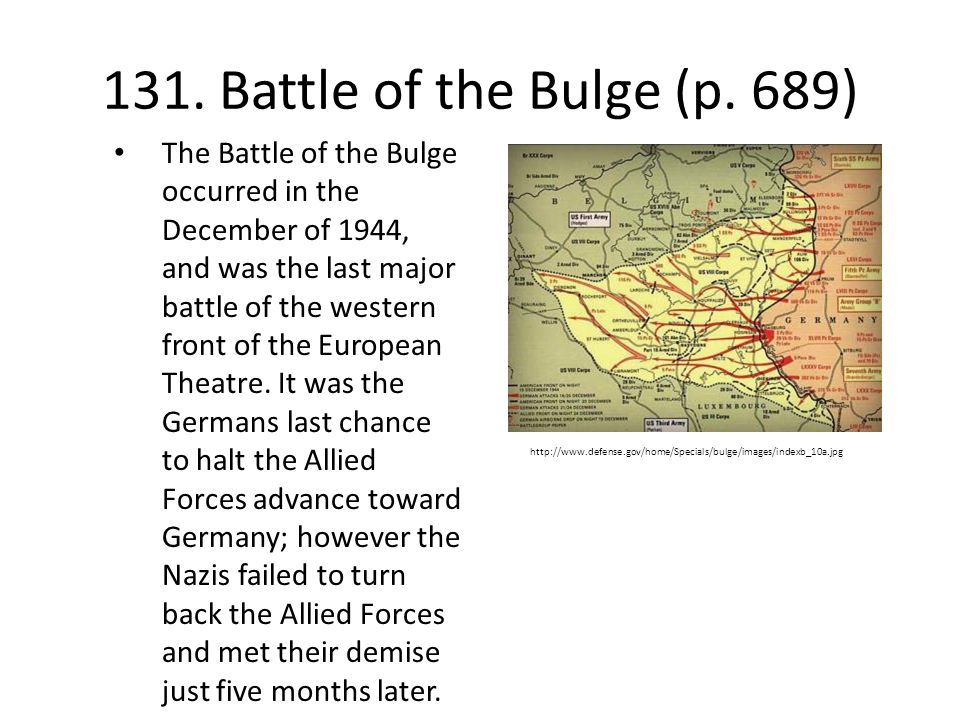 131.Battle of the Bulge (p.