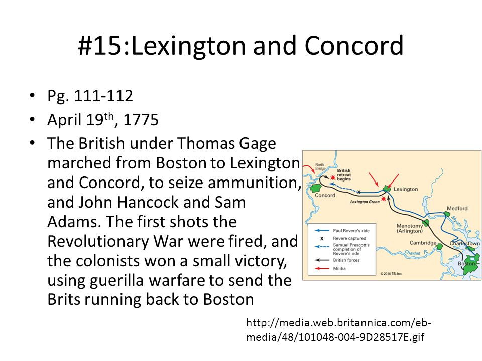 #15:Lexington and Concord Pg.