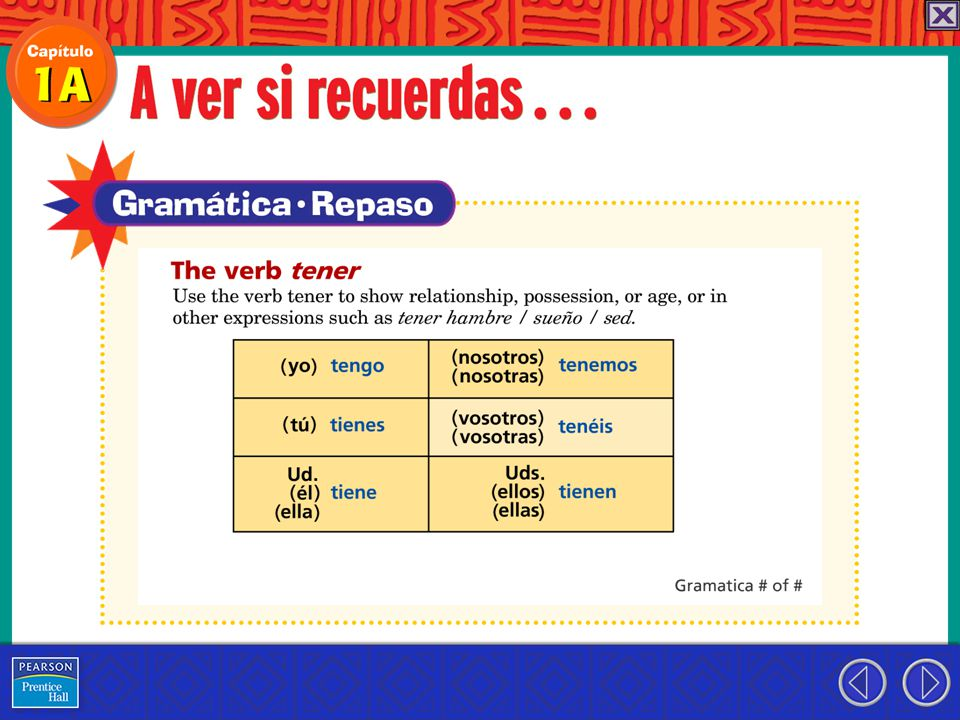 Use tener que + infinitive to say that something has to be done.