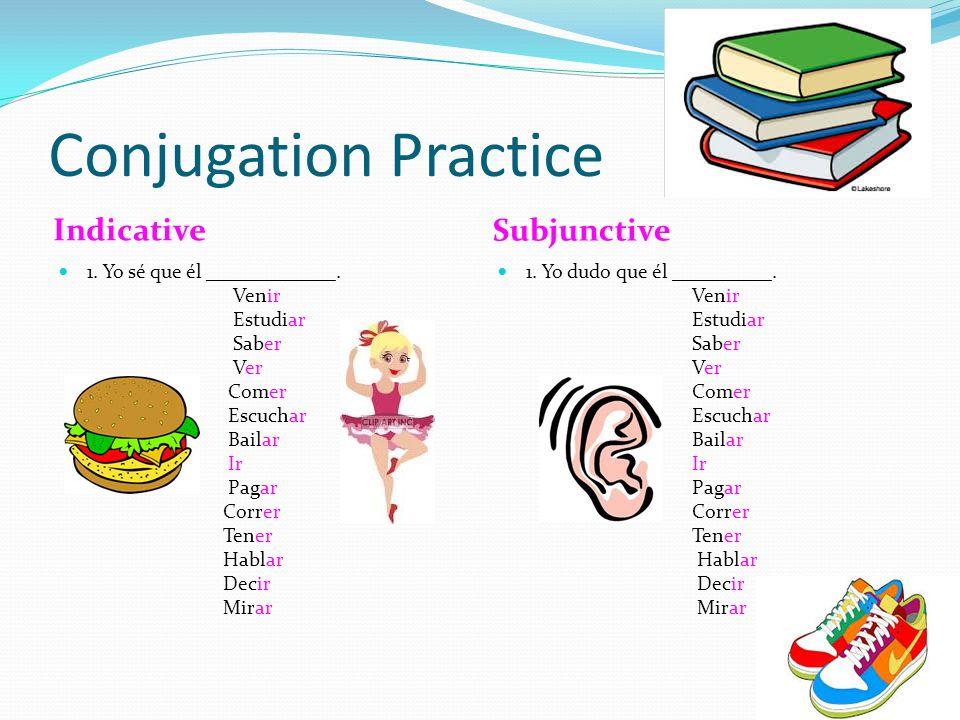 Subjunctive Hablar Comer Hable Hables Hable Hablemos Hablen Coma Comas Coma Comamos Coman