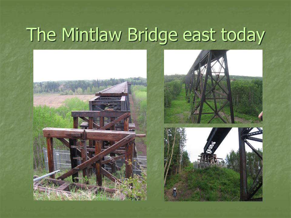 The Mintlaw Bridge east today