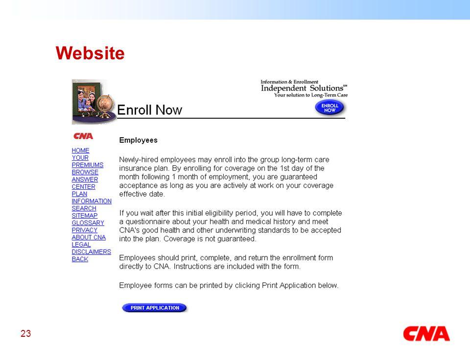 23 Website