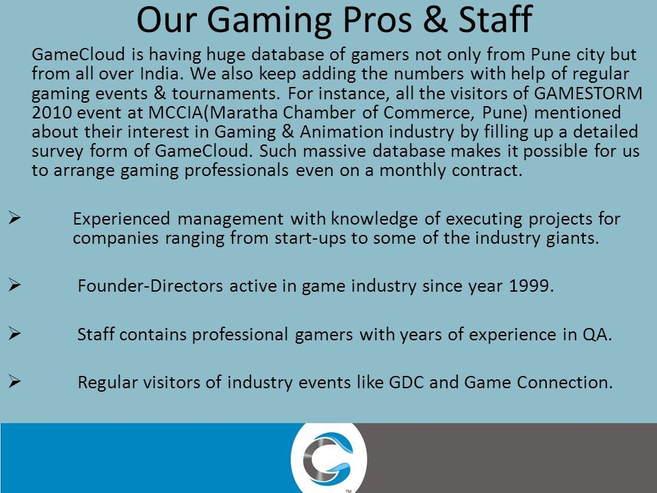 Tech Support Our newly introduced service, exclusively for MMOs and Facebook Games.
