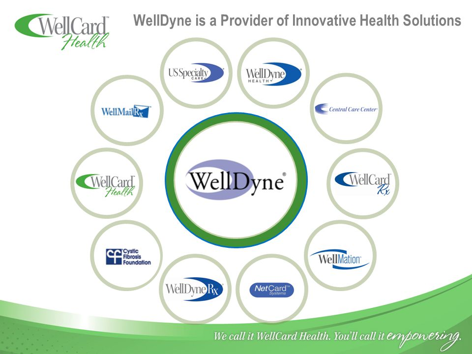 WellDyne is a Provider of Innovative Health Solutions