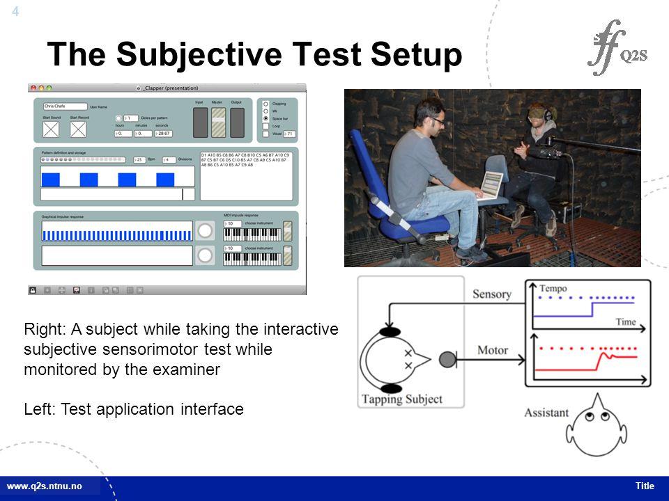 25 www.q2s.ntnu.noTitle Future Works 3.
