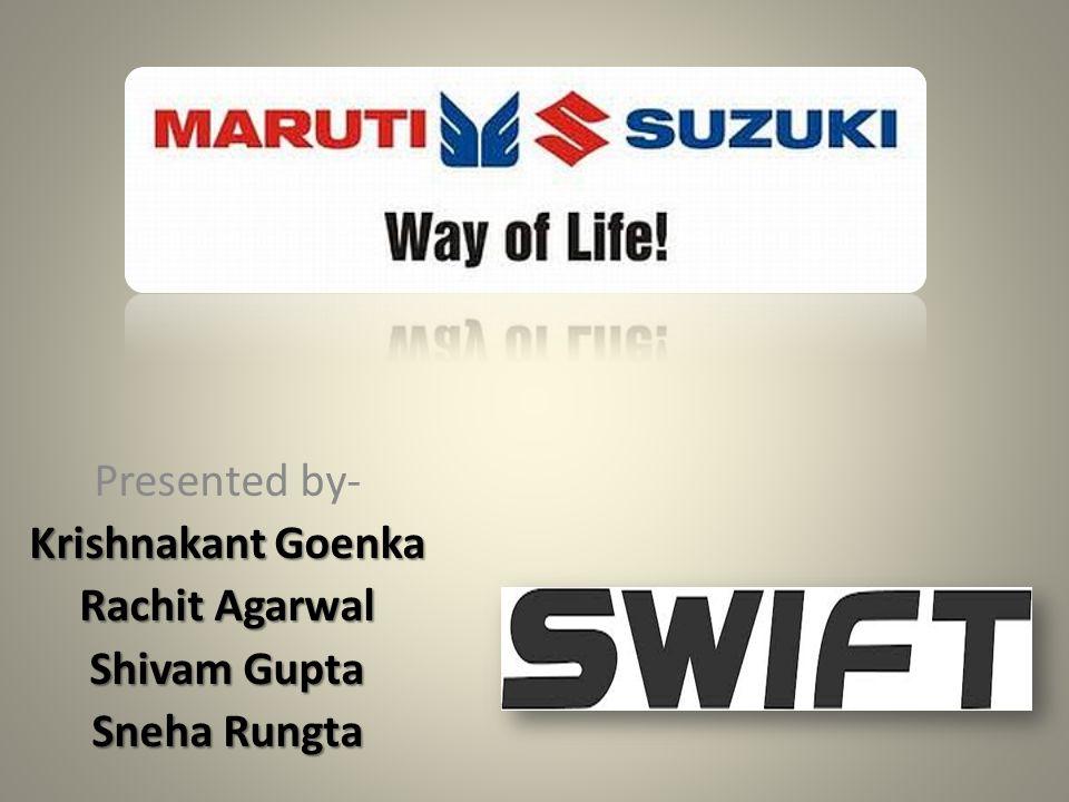 Presented by- Krishnakant Goenka Rachit Agarwal Shivam Gupta Sneha Rungta