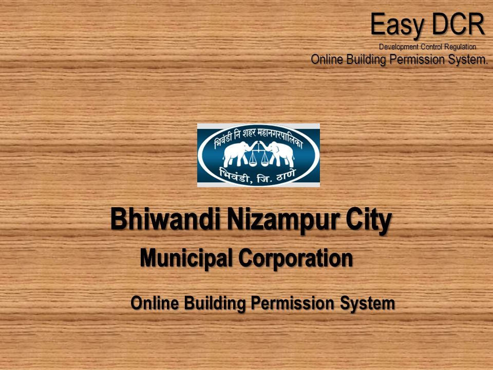Online Building Permission System Easy DCR Development Control Regulation Online Building Permission System.
