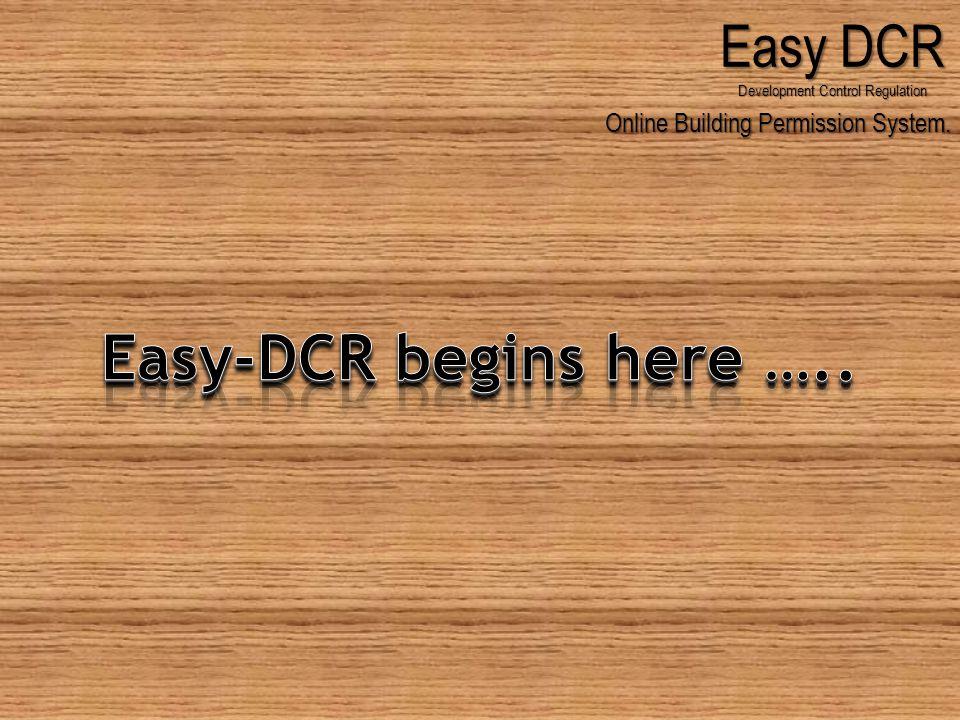 Online Building Permission System. Easy DCR Development Control Regulation