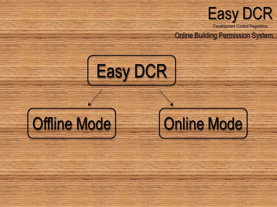 Online Building Permission System.Easy DCR Development Control Regulation No.