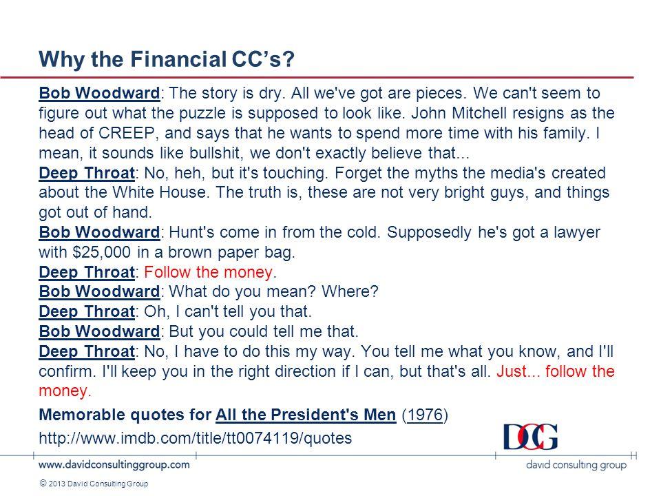 ©2011 David Consulting Group © 2013 David Consulting Group A Validation Workshop.