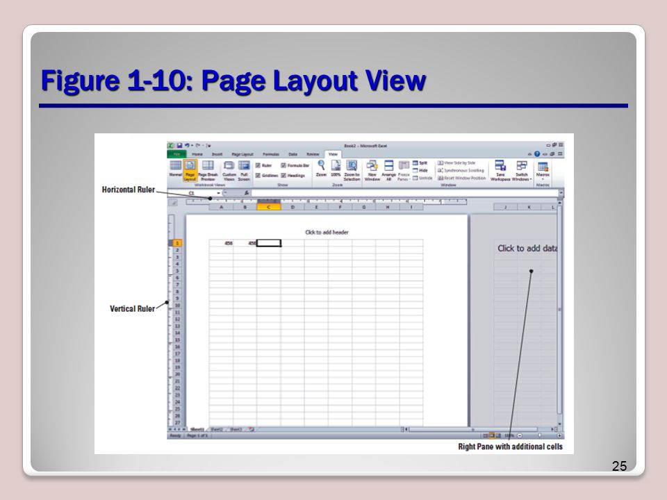 Figure 1-10: Page Layout View 25